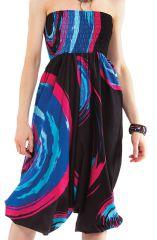 Sarouel pour femme Noir 3en1 Original et Coloré Magik 281376