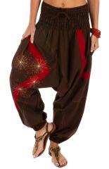 Sarouel pour femme petite ou grande ethnique Adama 314214