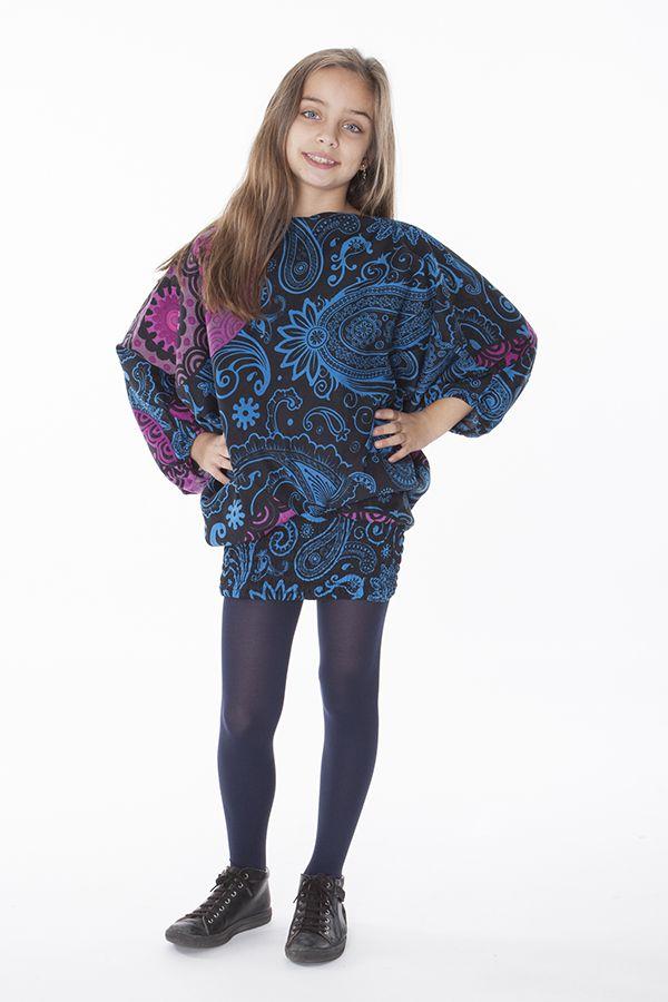 Sarouel pour Fille 3en1 Ethnique et Original Ewen Noir 286195