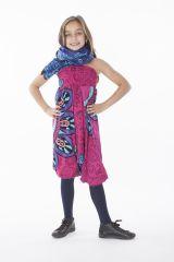 Sarouel pour Fille 3en1 Rose Ethnique et Original Ewen 286199