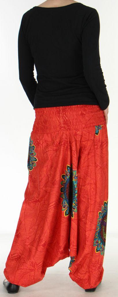 Sarouel transformable 3en1 original et pas cher  Rouge Stripe 272595