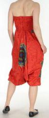 Sarouel transformable 3en1 original et pas cher  Rouge Stripe 272597