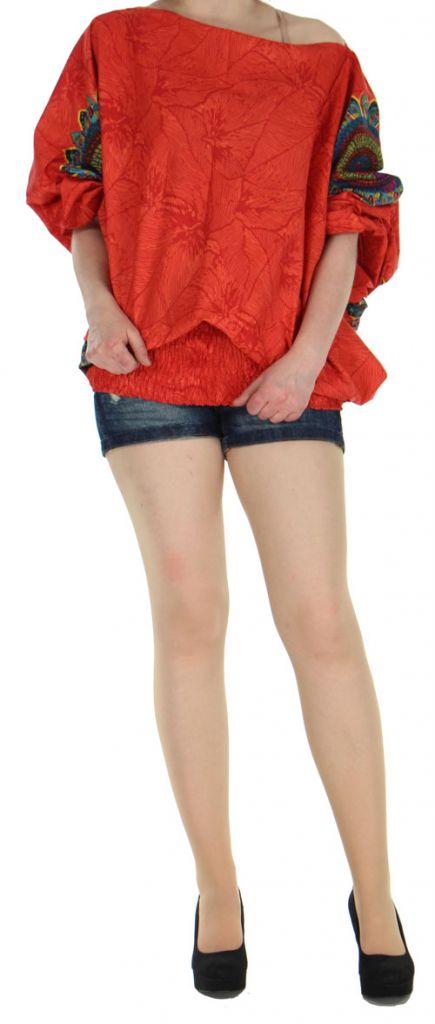 Sarouel transformable 3en1 original et pas cher  Rouge Stripe 272598