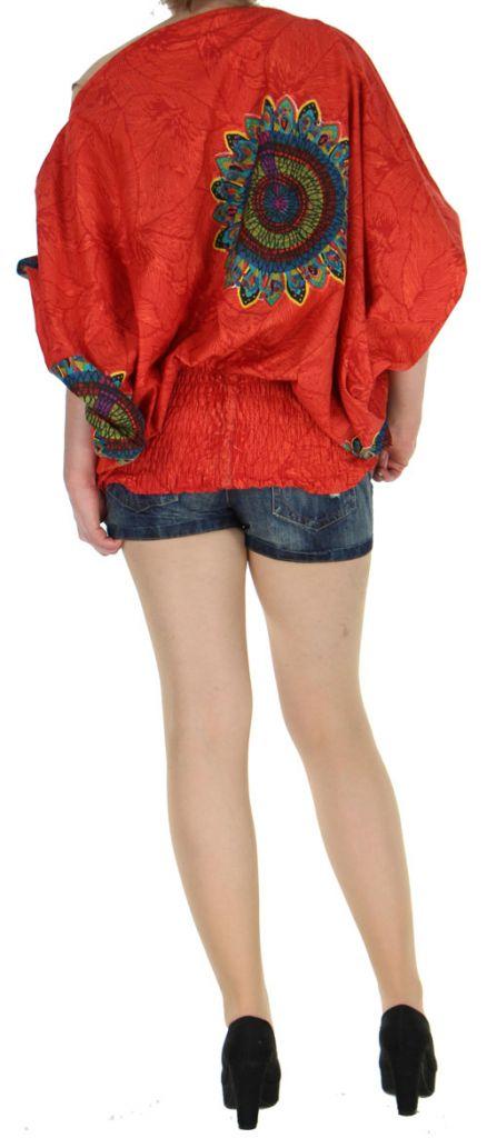 Sarouel transformable 3en1 original et pas cher  Rouge Stripe 272600