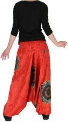 Sarouel transformable 3en1 original et pas cher  Rouge Stripe 272603