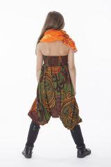 Sarouel Transformable en Combi et Tunique Fille Shirley 286326