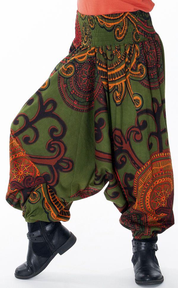 Sarouel Transformable en Combi et Tunique Fille Shirley 286932