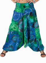 Sarouel transformable en robe ou combi mario 292400