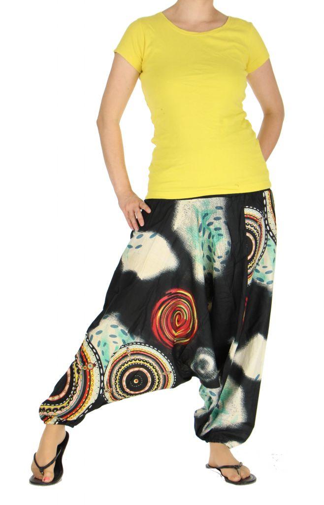 Sarouel transformable en robe ou combi nataelle 263587