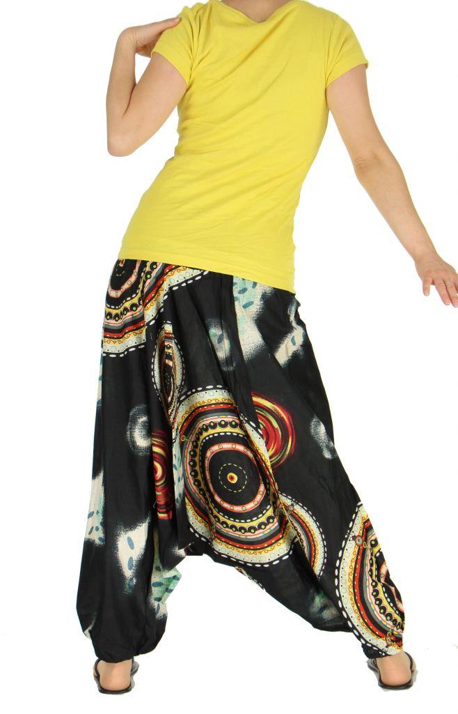 Sarouel transformable en robe ou combi nataelle 263590