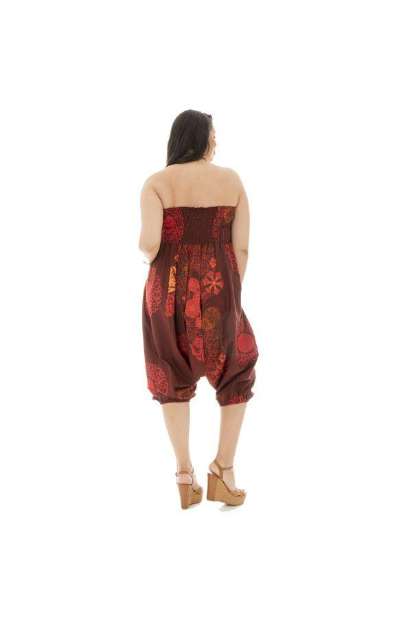 Sarouel transformable grande taille avec motifs fantaisies Tasty 291746