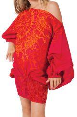 Sarouel très coloré pour Fille 3en1 Ethnique et Original Buldeo 280067