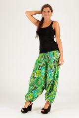 Sarouel vert vêtement transformable 3en1 Chevy 289432