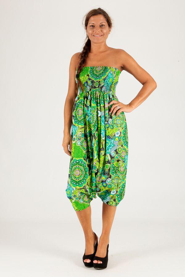 Sarouel vert vêtement transformable 3en1 Chevy 289433