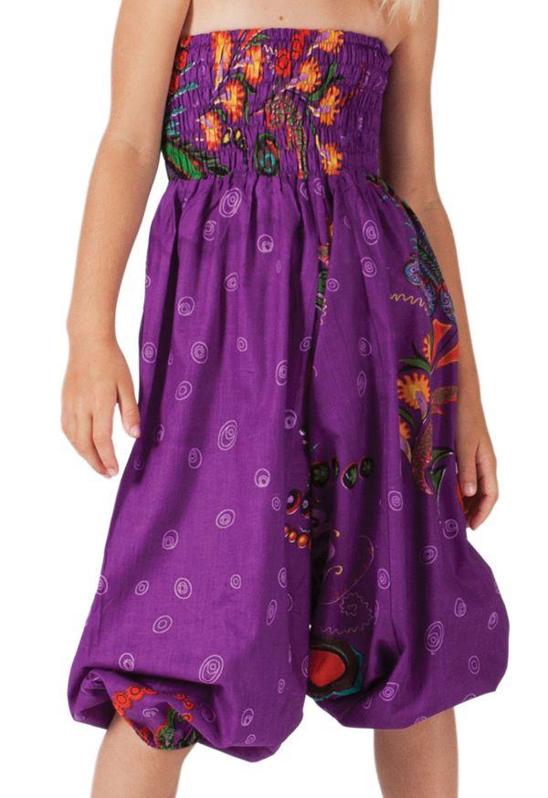 Sarouel Violet 3en1 pour Fille Original et Flashy Calliope 280072