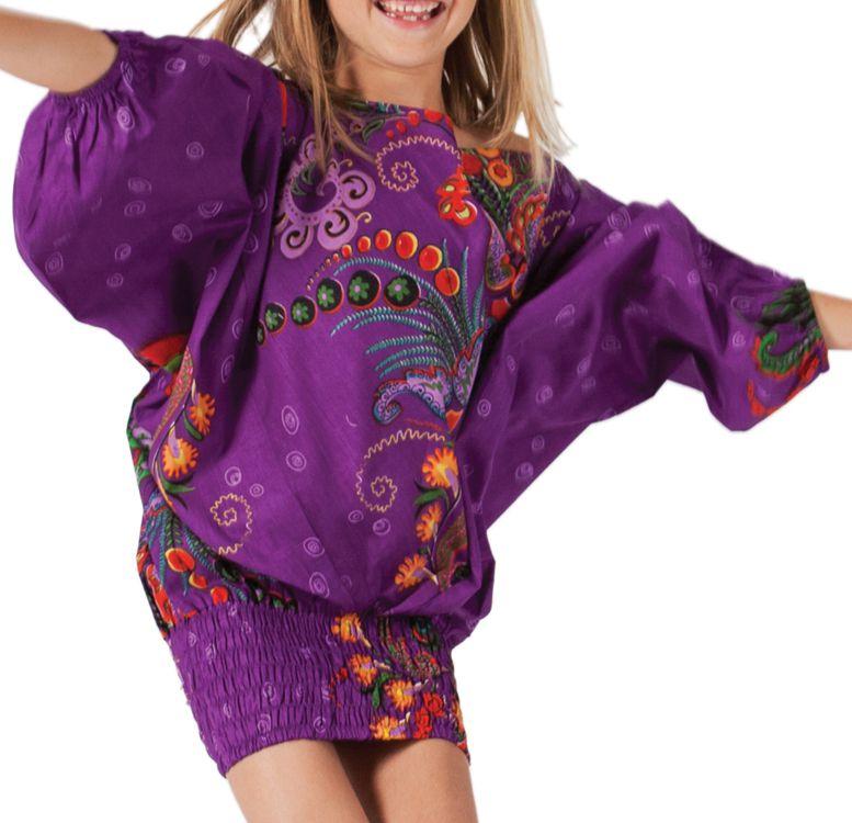 Sarouel Violet 3en1 pour Fille Original et Flashy Calliope 280073