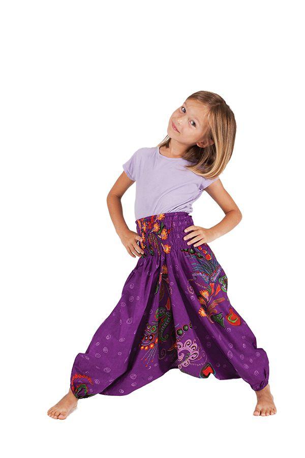 Sarouel Violet 3en1 pour Fille Original et Flashy Calliope 280074