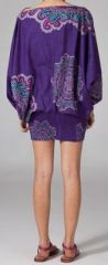 Sarouel violet pour femme Shany 269429