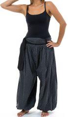 Sarwel pantalon large femme en coton épais imprimé Giloni 305522
