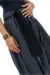 Sarwel pantalon large femme en coton épais imprimé Giloni 305525