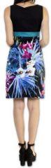 Superbe robe courte d'été idéale cérémonie Noire Ennora 273448