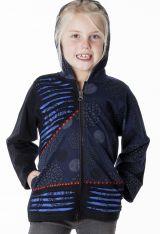 Sweat à capuche original avec deux poches pour fille 287455