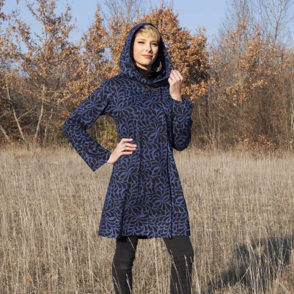 Sweat Bleu pour femme Original et Pas cher Elango 287708