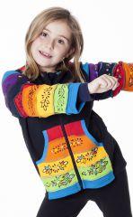 Sweat enfant ethnique avec motifs peints à la main 287469