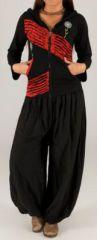 Sweat femme à capuche ethnique original et pas chèr Loic 274367