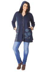 Sweat Original à capuche en Grande taille Seal Bleu nuit 286309