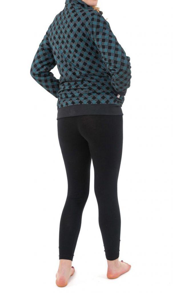 Sweat veste reversible 2en1 soit uni ou imprimé Kacha 305502