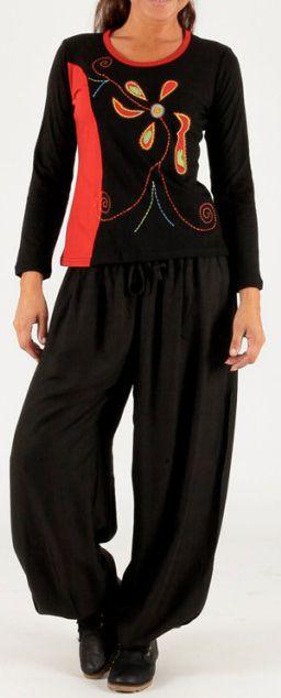 T-Shirt à manches longues Ethnique et Original Ramy 275194