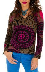 T-shirt à manches longues pour femme Mandy 312759