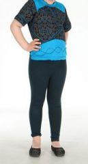 T-shirt ethnique enfant noir et bleu Anton 270885
