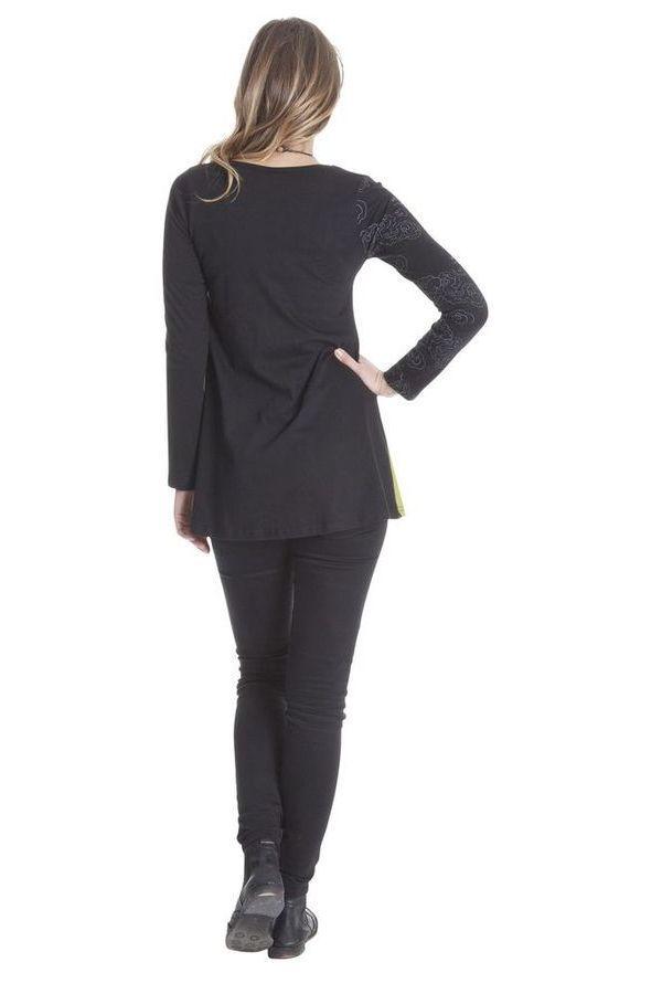 T-shirt évasé pour Femme Imprimé et Coloré Alonso 286872