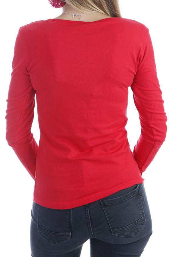 81a5c92ced9 t-shirt-femme-a-manches-longues -pas-cher-imprime-ton-sur-ton-rouge-quia-p-image-303263-grande.jpg