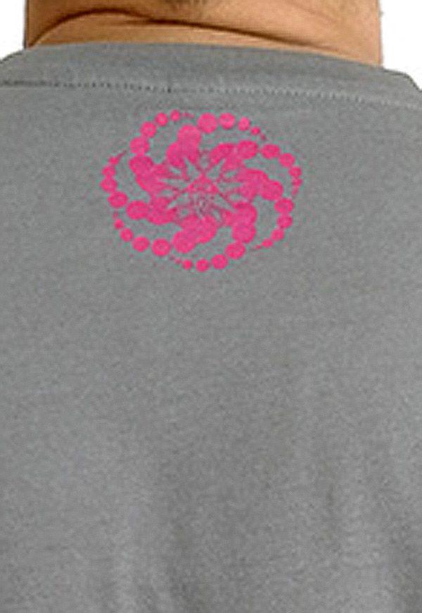 T-shirt Gris à manches courtes avec imprimé fun Marcus 297532