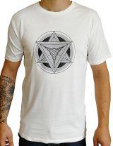 T-shirt homme en coton avec logo géométrique Jake 297259