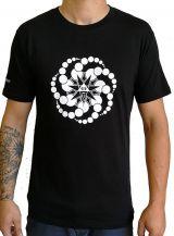 T-shirt Noir à manches courtes avec imprimé fun Marcus 297512