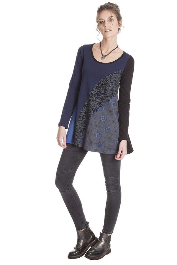 T-Shirt pour femme à manches longues Original et Ethnique Alvaro 286868