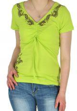 Tee-Shirt Anis pour femme Original et Ethnique Massia 282388