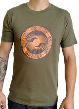 Tee-Shirt aux motifs Ethniques et Tribals pour Homme Larry Kaki 297555