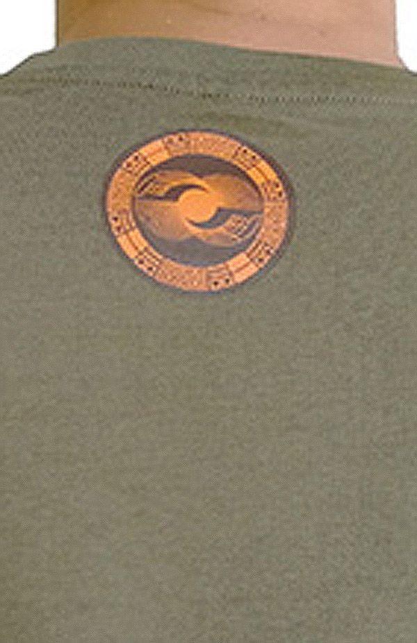 Tee-Shirt aux motifs Ethniques et Tribals pour Homme Larry Kaki 297557