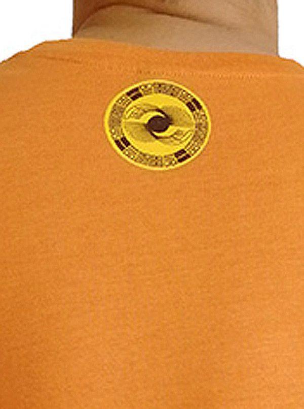 Tee-Shirt aux motifs Ethniques et Tribals pour Homme Larry Orange 297564