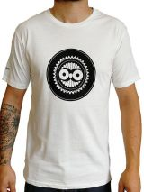 Tee-Shirt Blanc à connotation Maya imprimé et Original Braddy 297466