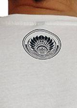 Tee-Shirt Blanc à connotation Maya imprimé et Original Braddy 297468