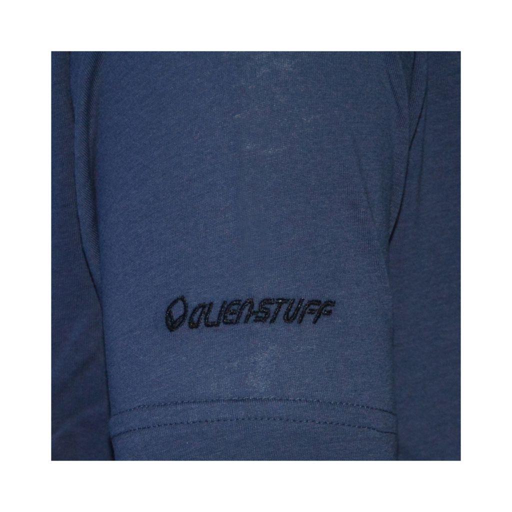 Tee-shirt Bleu pour homme à tendance Zen Lotus et au col rond 297461