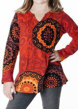 Tee-shirt coloré pour fille à manches longues 287600