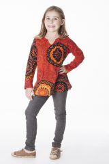 Tee-shirt coloré pour fille à manches longues 287601