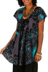 Tee-shirt féminin coupe ample en coton léger pour l'été Jessy 306227